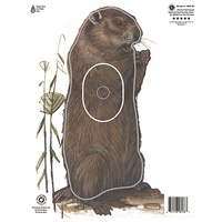 Maple Leaf Authentic Woodchuck Target Face