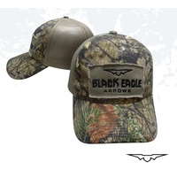 Black Eagle Camo Mesh Snapback Hat