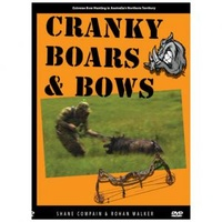 Cranky Boars & Bows Extreme Bow Hunting DVD