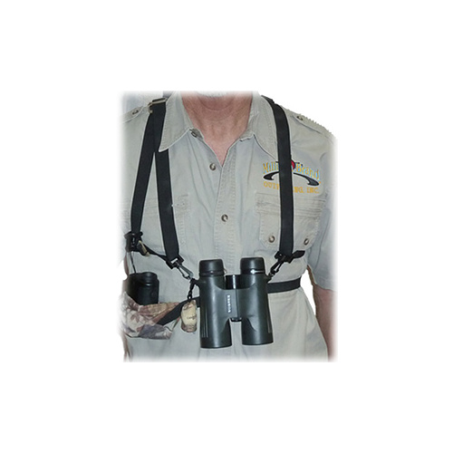 Crooked Horn Bino-Rangefinder Harness System [Colour: Black]