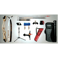 Cartel Sirius Wooden Recurve Bow Package