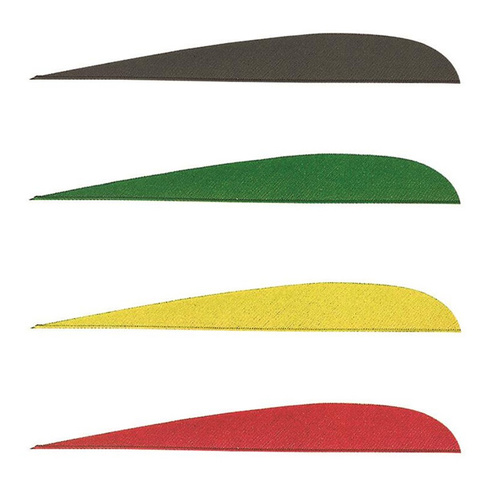 Right Wing Parabolic 4 Inch Feather 12PK [Colour: Black]