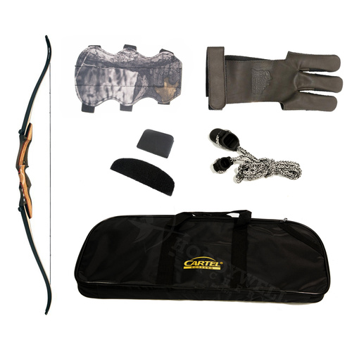 EPIC Hawk Recurve Starter Kit [Hand: Right Hand] [Poundage: 35lb]